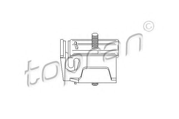 Опора двигателя HANS PRIES/TOPRAN 300926
