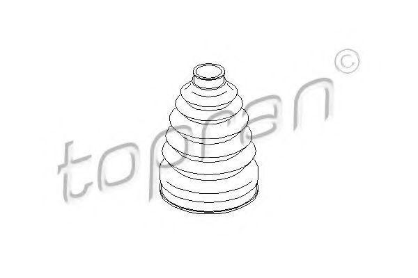 Пыльник ШРУС HANS PRIES/TOPRAN 301236