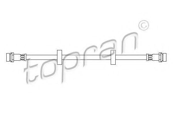 Шланг тормозной HANS PRIES/TOPRAN 300552