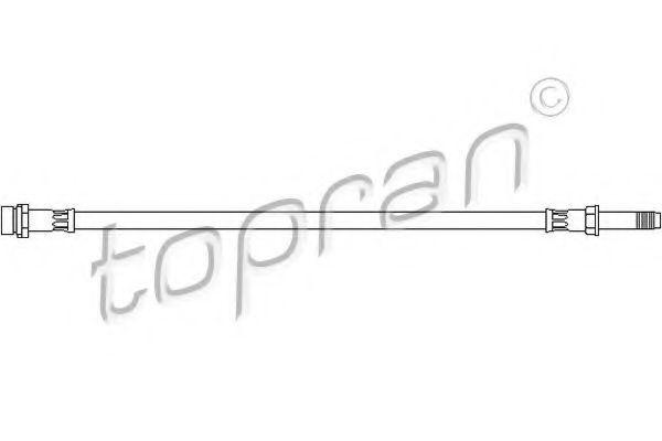 Шланг тормозной HANS PRIES/TOPRAN 300 554