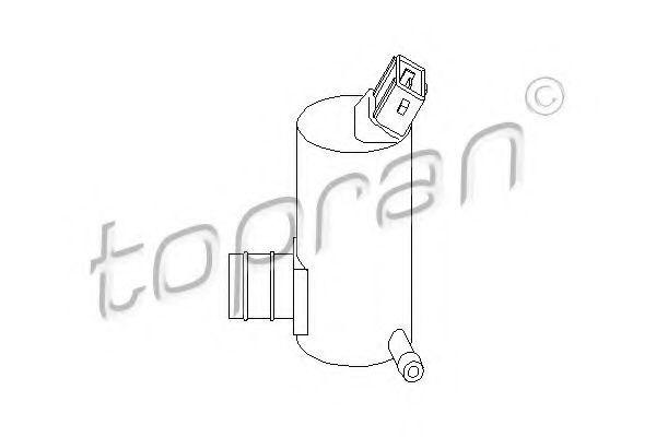 Насос омывателя HANS PRIES/TOPRAN 300 634