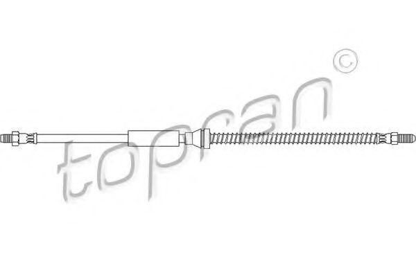 Шланг тормозной HANS PRIES/TOPRAN 300 685