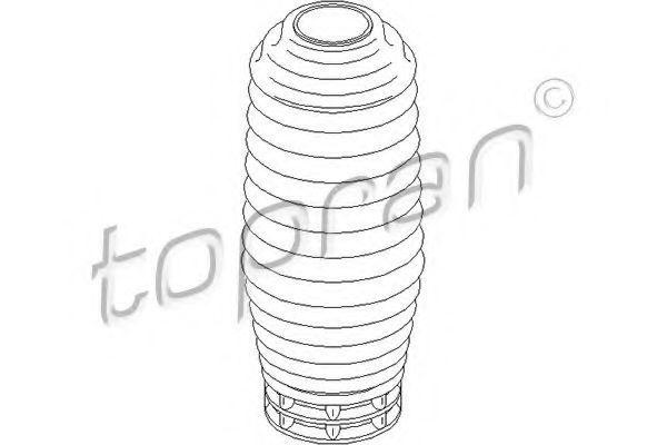 Пыльник амортизатора HANS PRIES/TOPRAN 301 417