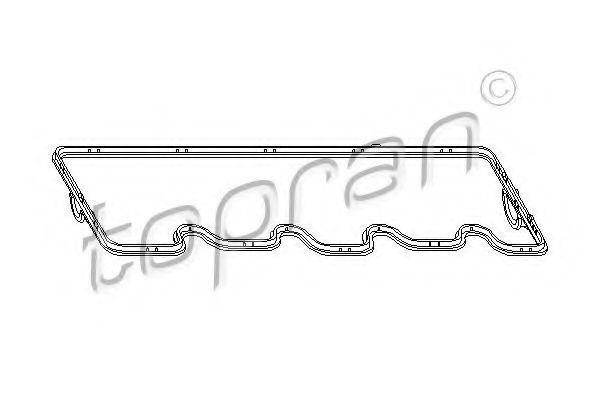 Прокладка клапанной крышки HANS PRIES/TOPRAN 400 927