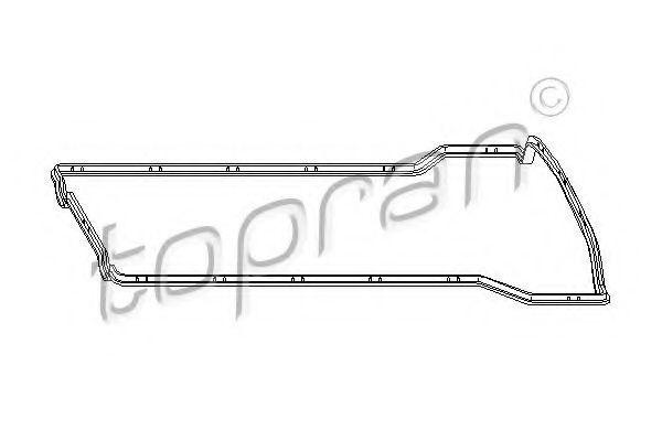 Прокладка клапанной крышки HANS PRIES/TOPRAN 400928