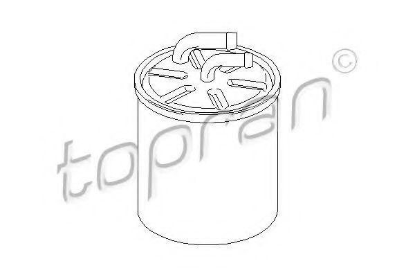 Фильтр топливный HANS PRIES/TOPRAN 400886