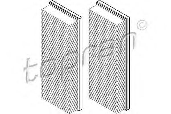 Фильтр воздушный HANS PRIES/TOPRAN 400317