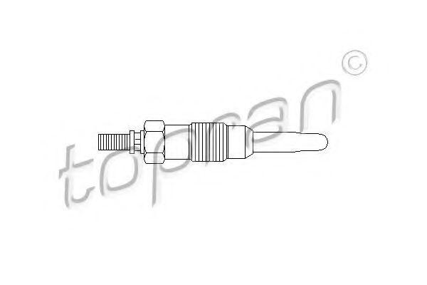 Свеча накаливания HANS PRIES/TOPRAN 400446