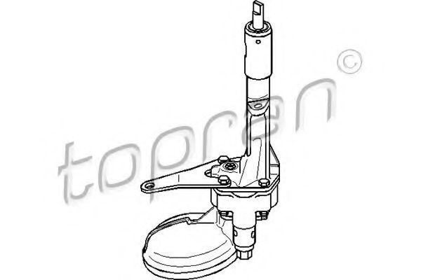 Масляный насос HANS PRIES/TOPRAN 401 153