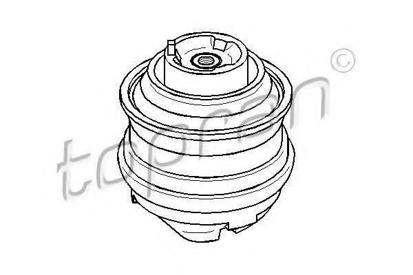 Опора двигателя HANS PRIES/TOPRAN 400 030