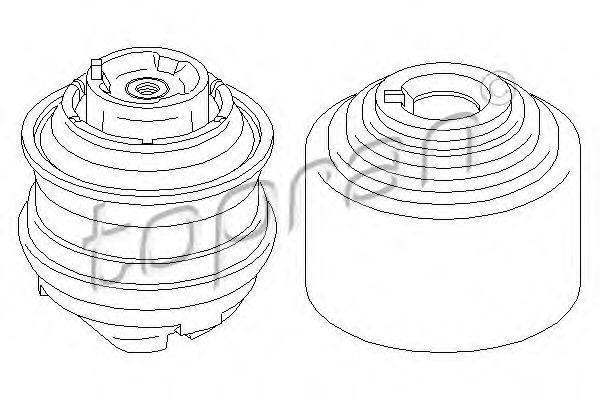 Опора двигателя HANS PRIES/TOPRAN 400471