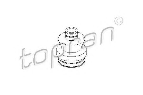 Пыльник ШРУС HANS PRIES/TOPRAN 400732
