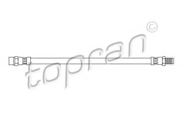 Шланг тормозной HANS PRIES/TOPRAN 400215