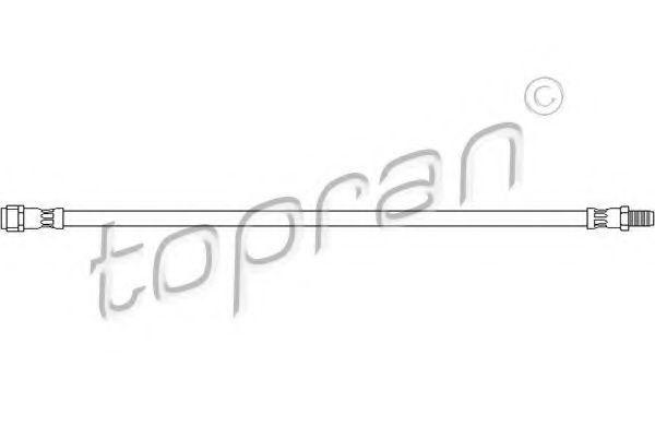 Шланг тормозной HANS PRIES/TOPRAN 400 423
