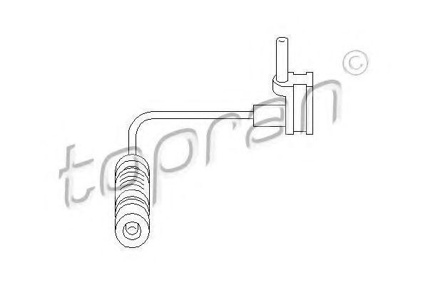 Датчик износа тормозных колодок HANS PRIES/TOPRAN 400983