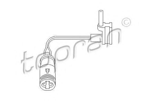 Датчик износа тормозных колодок HANS PRIES/TOPRAN 401203