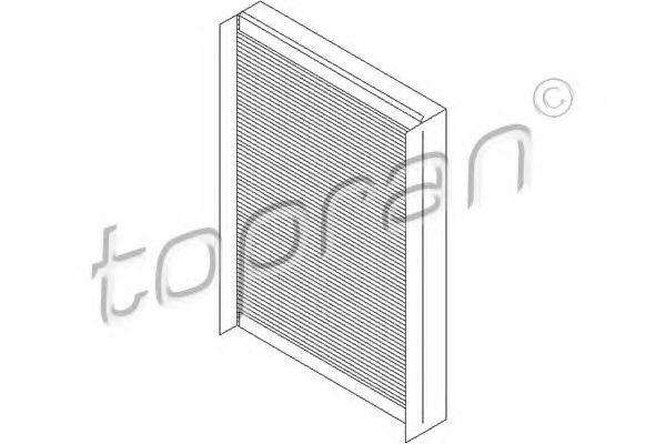 Фильтр салона HANS PRIES/TOPRAN 400 200