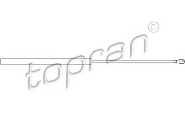 Амортизатор капота HANS PRIES/TOPRAN 400661