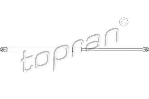 Амортизатор багажника HANS PRIES/TOPRAN 400662