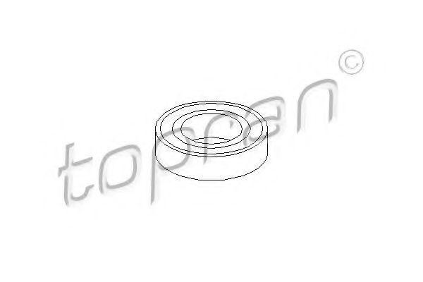 Подшипник опоры карданного вала HANS PRIES/TOPRAN 501 617