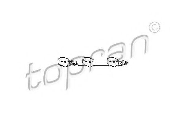 Прокладка клапанной крышки HANS PRIES/TOPRAN 501 328