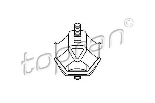Опора двигателя HANS PRIES/TOPRAN 500001