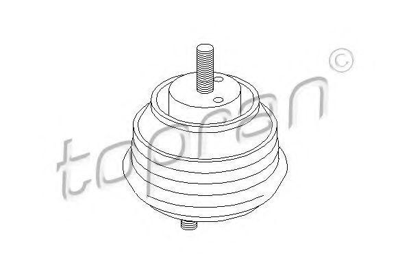 Опора двигателя HANS PRIES/TOPRAN 500 004