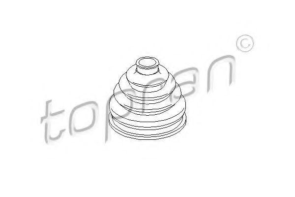 Пыльник ШРУС HANS PRIES/TOPRAN 500609