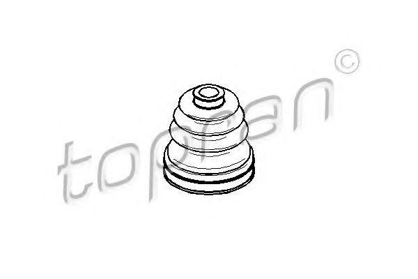 Пыльник ШРУС HANS PRIES/TOPRAN 501599