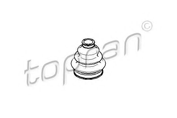 Пыльник ШРУС HANS PRIES/TOPRAN 500613