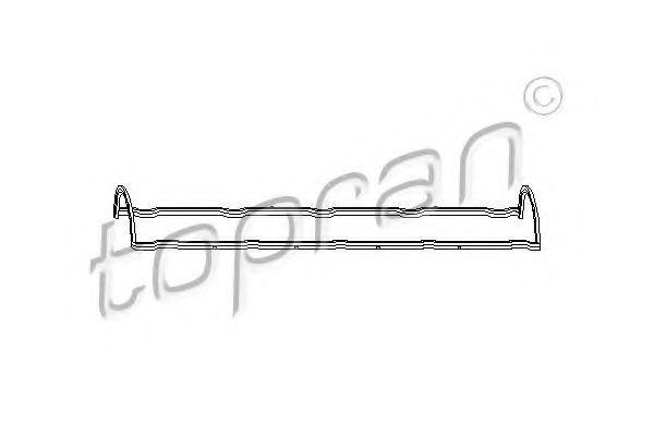 Прокладка клапанной крышки HANS PRIES/TOPRAN 720107