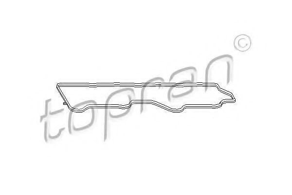 Прокладка клапанной крышки HANS PRIES/TOPRAN 721 128