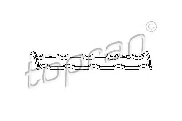 Прокладка клапанной крышки HANS PRIES/TOPRAN 720 108