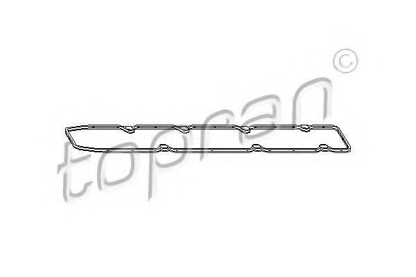 Прокладка клапанной крышки HANS PRIES/TOPRAN 720 109