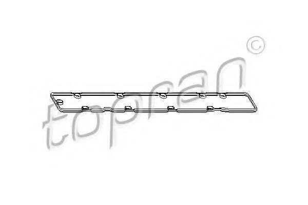Прокладка клапанной крышки HANS PRIES/TOPRAN 721 124