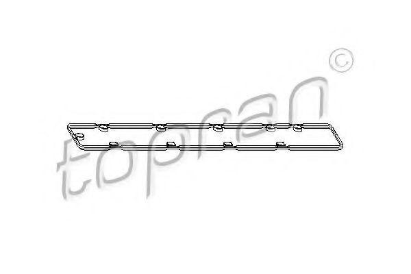 Прокладка клапанной крышки HANS PRIES/TOPRAN 721 125