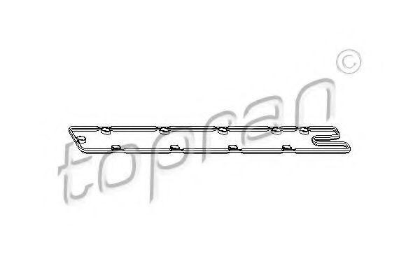Прокладка клапанной крышки HANS PRIES/TOPRAN 720 111