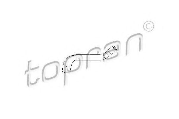 Купить Патрубок системи охлаждения HANS PRIES/TOPRAN 721797