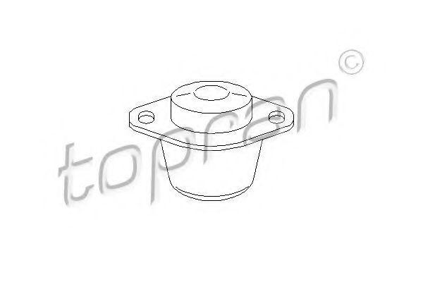 Опора двигателя левая HANS PRIES/TOPRAN 720193