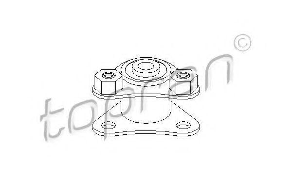 Опора двигателя верхняя HANS PRIES/TOPRAN 720381