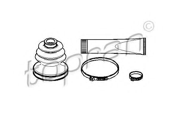 Комплект пылника, приводной вал HANS PRIES/TOPRAN 721158