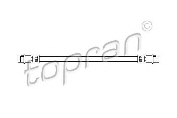 Шланг тормозной HANS PRIES/TOPRAN 720902