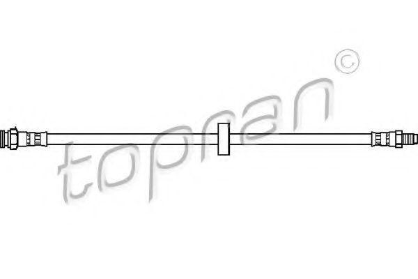 Шланг тормозной HANS PRIES/TOPRAN 720918