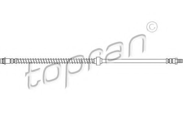 Шланг тормозной HANS PRIES/TOPRAN 720 928