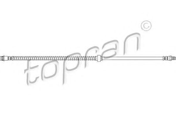 Шланг тормозной HANS PRIES/TOPRAN 720927