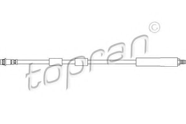 Шланг тормозной HANS PRIES/TOPRAN 720 894