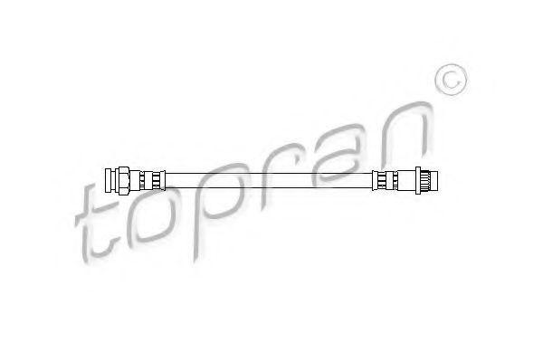 Шланг тормозной HANS PRIES/TOPRAN 720 914