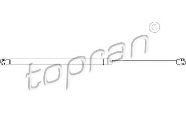 Амортизатор багажника HANS PRIES/TOPRAN 721 283