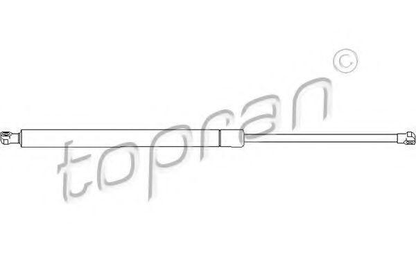 Амортизатор крышки багажника HANS PRIES/TOPRAN 721286
