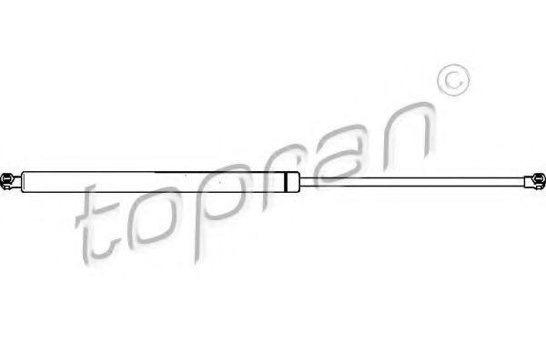 Амортизатор крышки багажника HANS PRIES/TOPRAN 721293